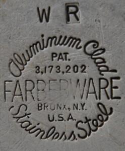 vintage Farberware cookware logo