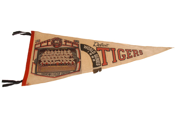 1968 Detroit Tigers World Series pennant