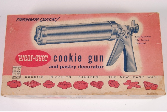 vintage cookie press wear ever