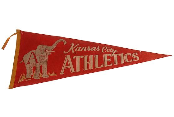 kansas city athletics pennant