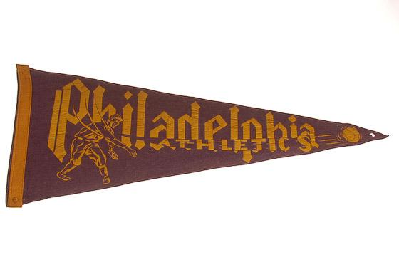 philadelphia athletics pennant
